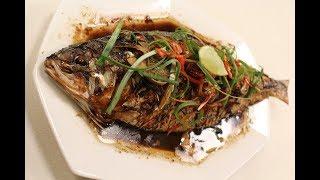 Chinese Style Steamed Fish | Chinese Cuisine | Sanjeev Kapoor Khazana
