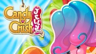 Обзор игры Candy Crush Jelly Saga [King] - Вымогает бабосик уже через пару уровней 5/10