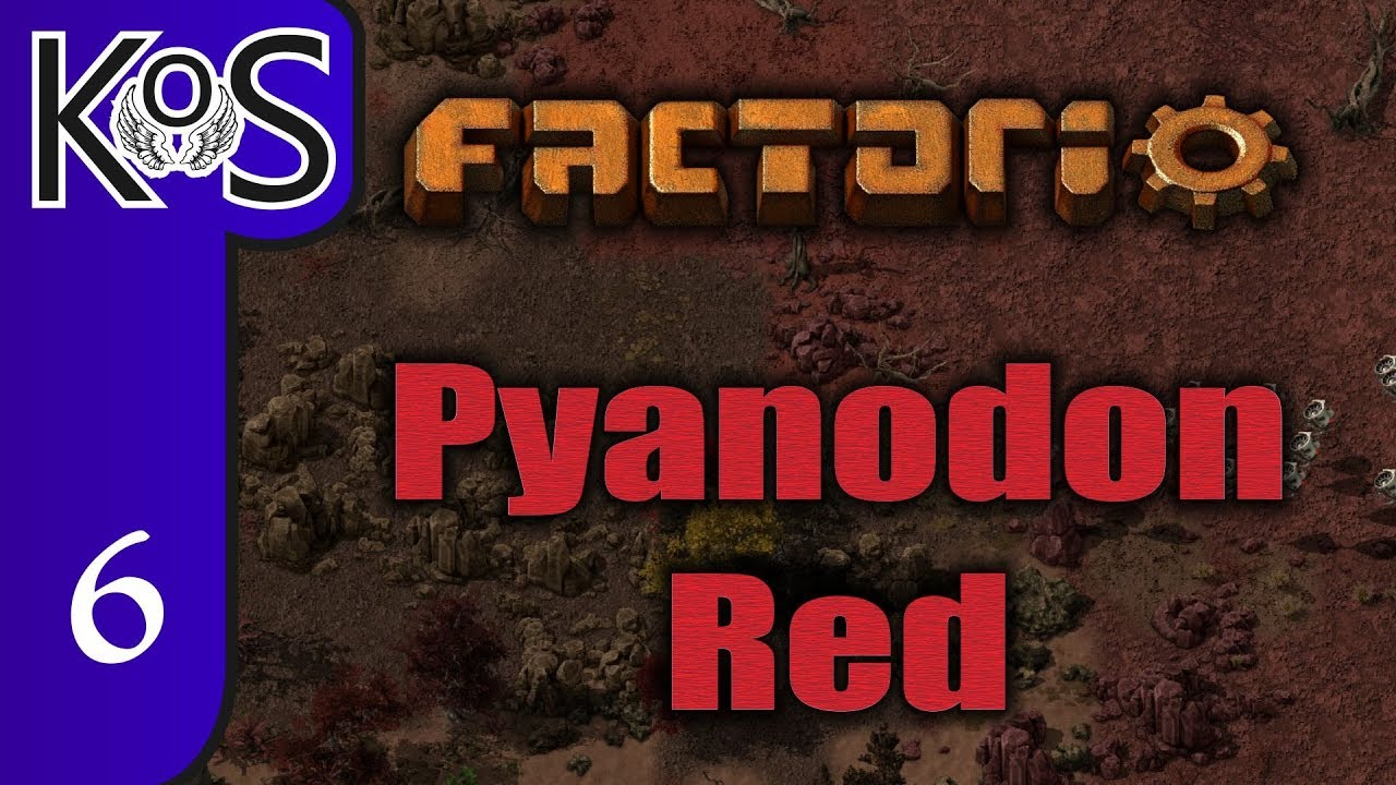 Factorio Pyanodon Red Ep 6: NEVER ENDING CHEMICAL CHAIN