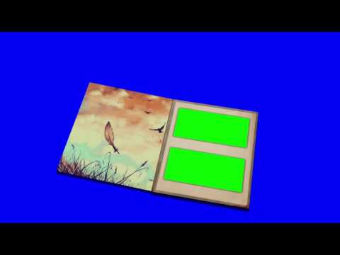 Photo album green screen 3Type [1080P]