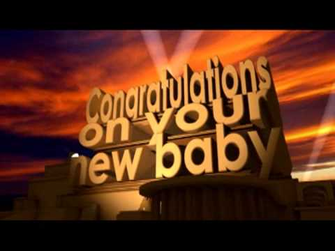 Congratulations on your new baby - YouTube