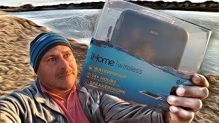 iHome iBN6 Rugged Water proof Bluetooth Speaker - 14+ hours Battery