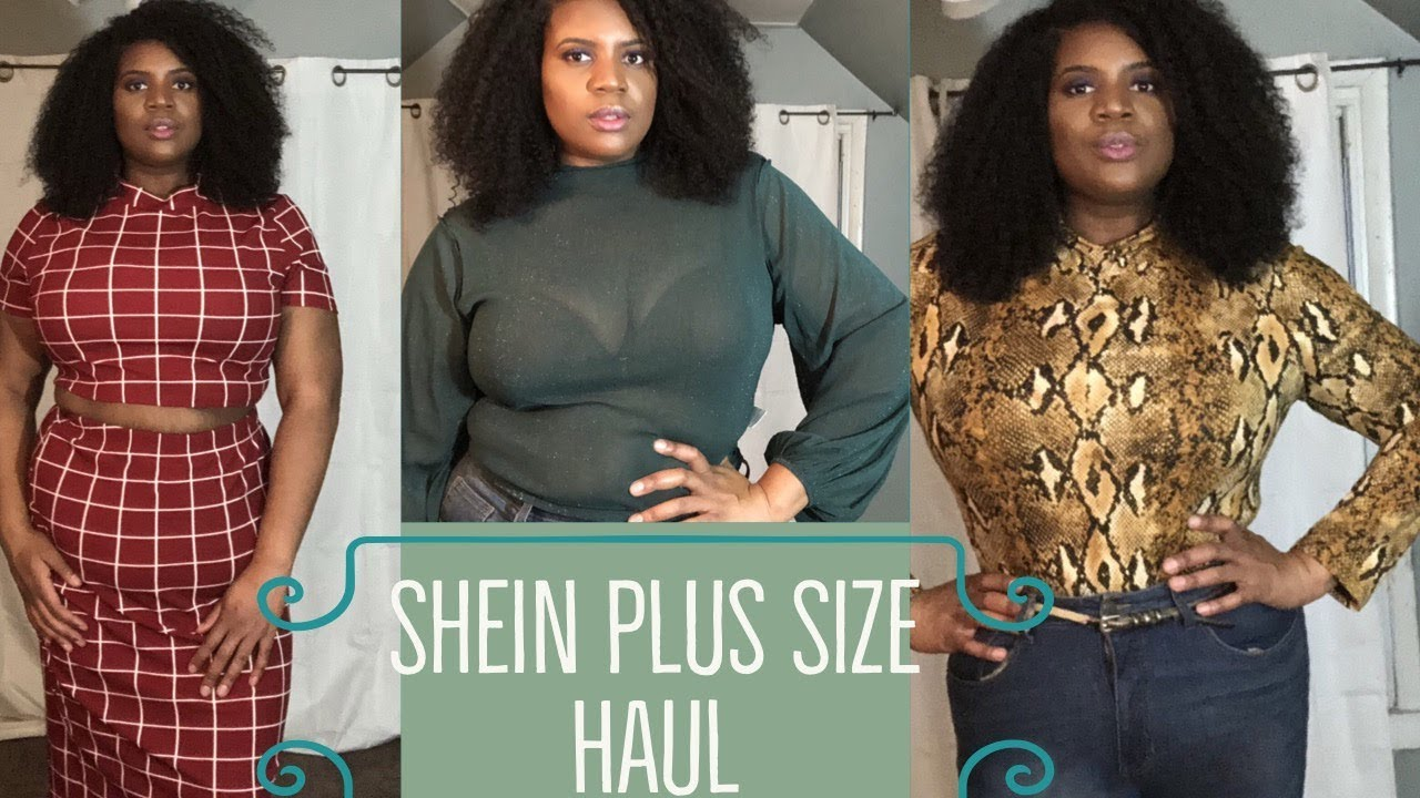 f739d0c0439 Shein Plus Size Haul x DID I JUST WASTE MY DAMN MONEY ! !🤬🤬🤬