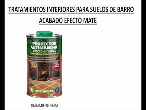 Productos para limpiar y tratar suelos de barro youtube - Limpiar suelos de barro ...