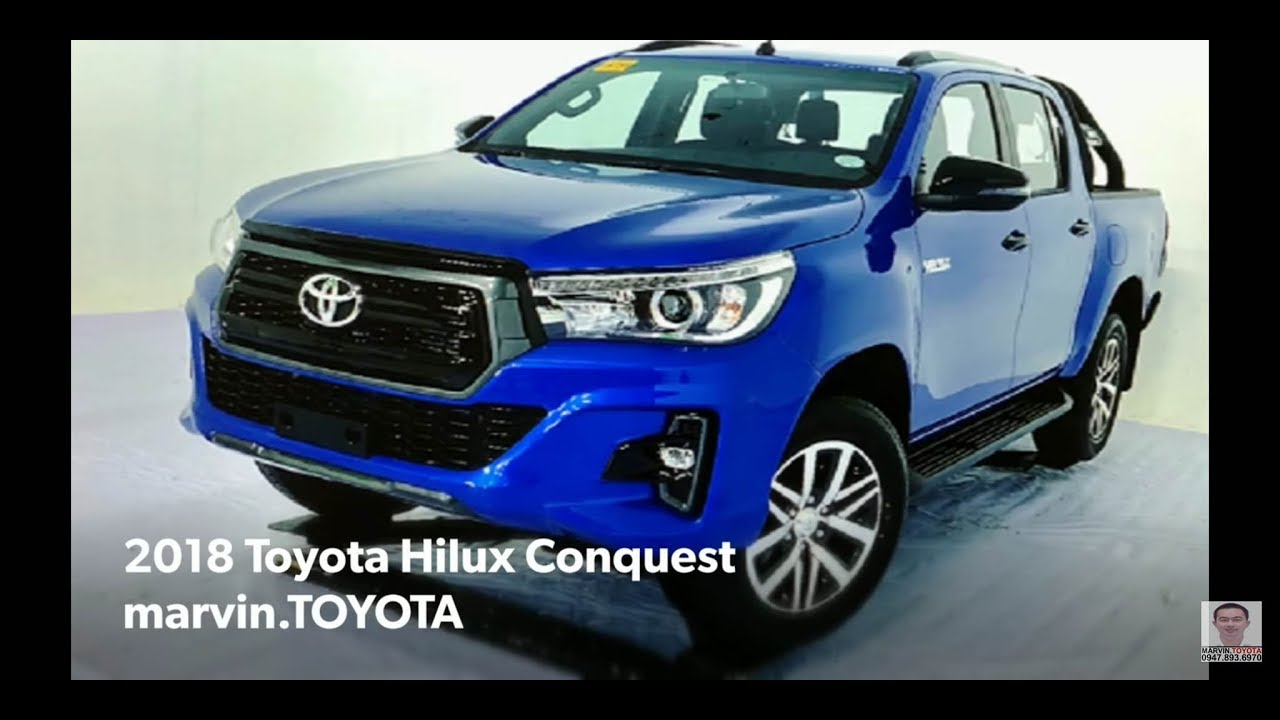 2018 Toyota Hilux Conquest Philippines Youtube