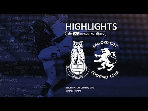 Oldham Salford Goals And Highlights