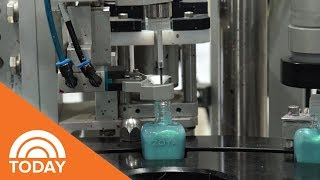 How Is Nail Polish Made? Step Inside Zoya's Factory | TODAY