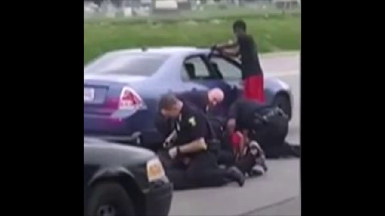 Video Shows Black Woman Concerned About Brother's Arrest Being Punched By Ohio Cop