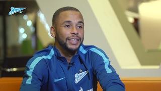 Эрнани на «Зенит-ТВ»: «У болельщиков еще будет шанс узнать меня получше»