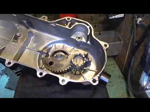 139QMB  Крышка вариатора и ремонт кик стартера