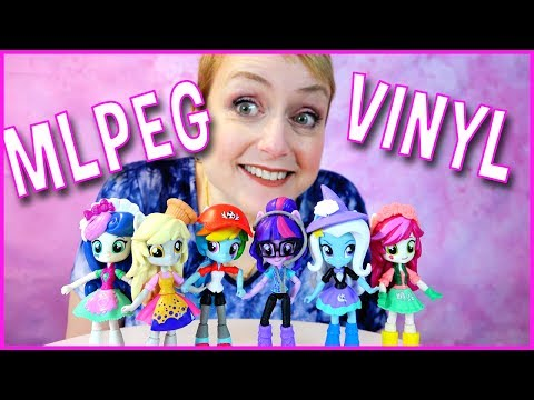 My Little Pony Equestria Girls Minis Collection -  Derpy, Rainbow Dash And More!