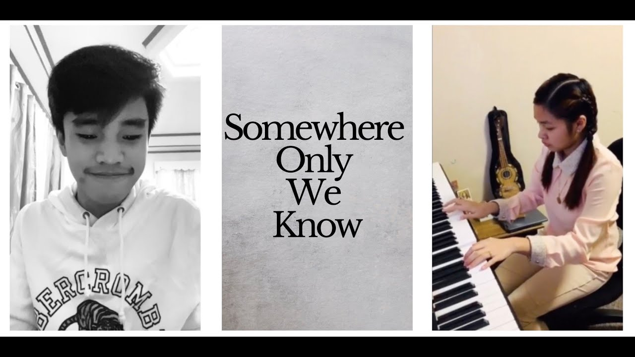 Keane - Somewhere Only We Know (piano cover by Francis and Riscia)