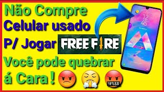 Não Compre Célular usado Para Jogar FREE FIRE ../André Soares🔝