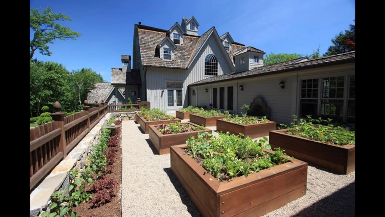 Garden Ideas raised bed gardening - YouTube