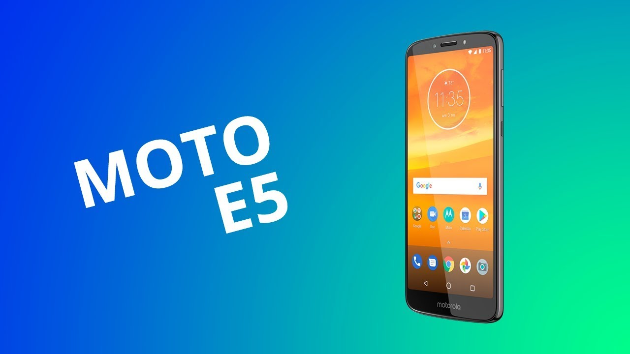 a4f99fa27f2 Análise | Motorola Moto E5 - Vídeos - Canaltech