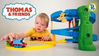 Томас и его друзья: Томас и Перси, скоростной спуск. Распаковка трека. Thomas & Friends unboxing