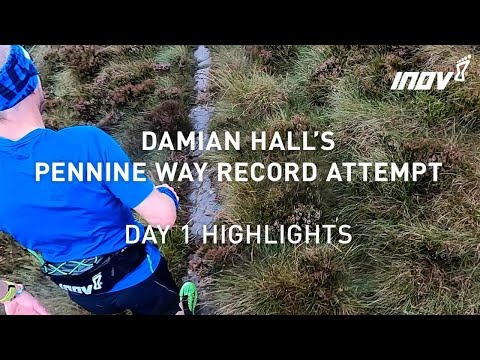 Day 1 highlights from Damian Hall's Pennine Way Record Attempt