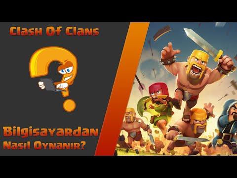 Bilgisayardan Clash Of Clans Nasıl Oynanır?