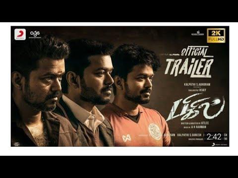 Bigil trailer- Thalapathy vijay, Nayanthara, AR.Rahuman,Atlee
