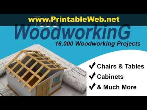 Download Printable Woodworking Plans DIY