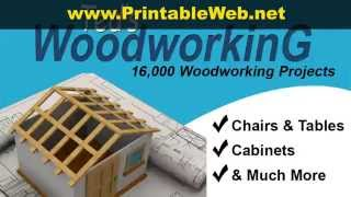 Download Printable Woodworking Plans DIY