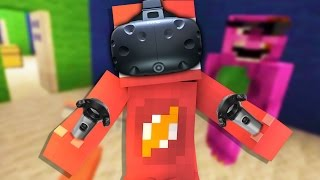 One of RedVacktor's most viewed videos: Minecraft VR | First Person Puzzles with ThatGuyBarney (HTC Vive Minecraft)
