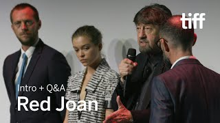 RED JOAN Cast And Crew Q&A   TIFF 2018