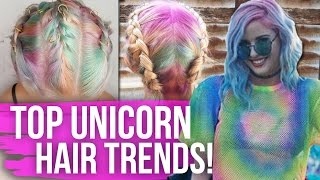 Top UNICORN Hair Trends! (Dirty Laundry)