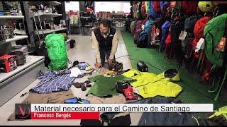 Material necesario para el Camino de Santiago