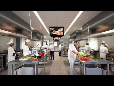 Columbus State Culinary School Animation