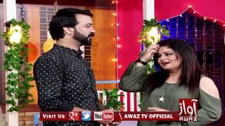 Awaz Comedy Club Ali Gul Malah 06 07 2018