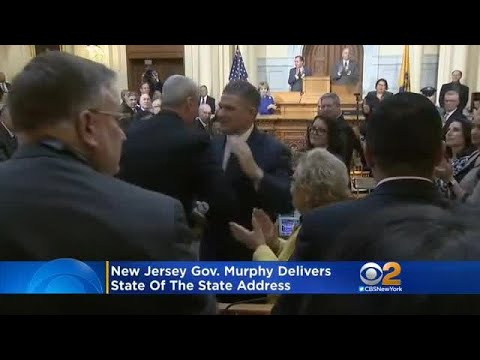 Gov. Murphy Delivers New Jersey State Of The State Address