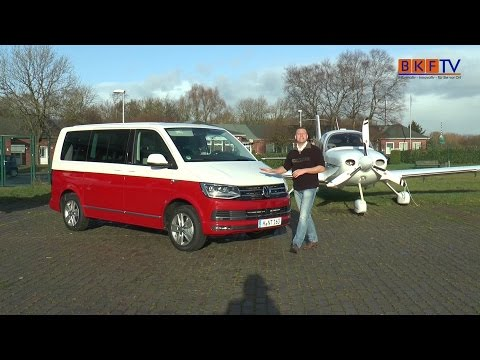 VW T6 Generation Six im BKF TV Fahrzeugtest