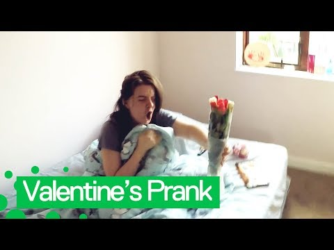 Fishhead - WATCH: Man Pranks Girlfriend With Smelly Valentine's Day Flowers