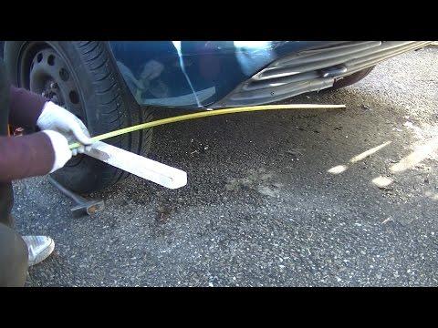 Comment régler le parallélisme des roues avant