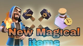 New Magical Hammer, New Decoration things, New Potion in Clash of Clans in Hindi /Pankaj Kashyap/