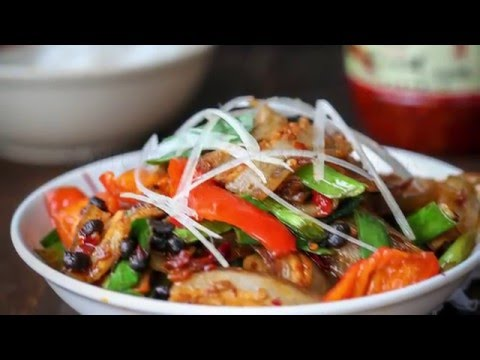 Twice Cooked Pork Belly(Szechuan Pork Stir Fry)四川回锅肉