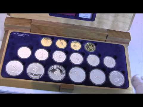 Lillehammer Olympic Coin set