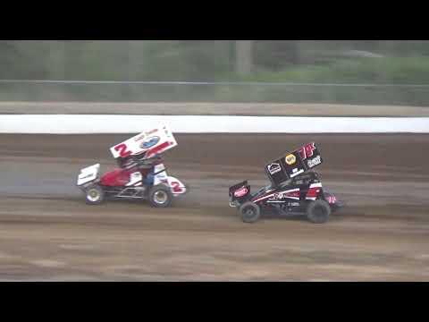 Grays Harbor Raceway, July 14, 2018, Sportsman Sprint Cars A-Main