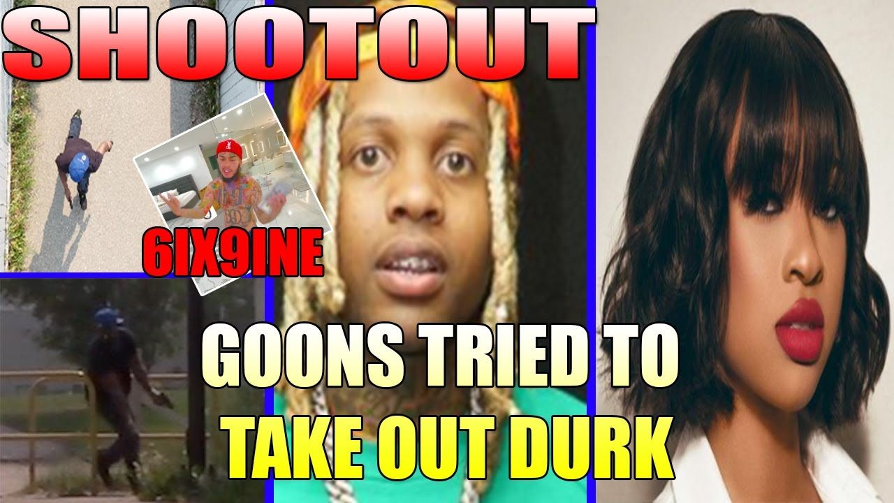 Lil Durk and India SH00TOUT with GOONIES, 6ix9ine RESPONDS