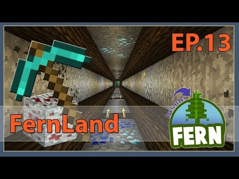 Fernland #13: The Mining Environment | Minecraft 1.12 | +Uma
