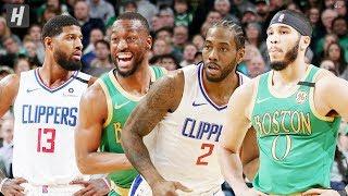 Los Angeles Clippers Vs Boston Celtics - Game Highlights | February 13, 2020 | 2019-20 Nba Season