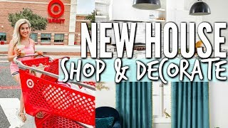 TARGET SHOP AND DECORATE WITH ME FOR THE NEW HOUSE | HOME TRANSFORMATION | Love Meg