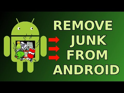 How to remove junk from your Android Device - Make Android 4.4 faster NO ROOT ! [HD]