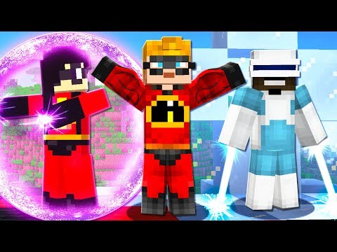 SUMMONING THE INCREDIBLES in Minecraft! **INCREDIBLES MINECRAFT**