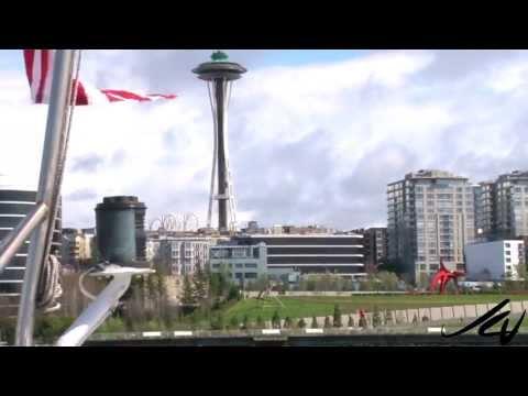 Elliott Bay Seattle  Argosy Harbor Tour prt  2  - YouTube