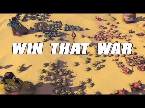 Win that War Gameplay - 50`s Sci Fi RTS