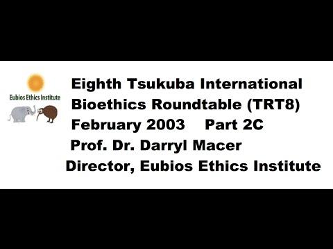 Behaviourome/Mental Mapping (TRT8 Part 2C); 8th Tsukuba Bioethics Roundtable