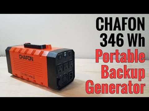 Chafon 346Wh Portable Backup Generator & Uninterruptible Power Supply