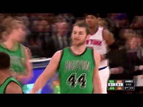 Tyler Zeller Highlights vs. New York Knicks (16 points, 10 rebounds)